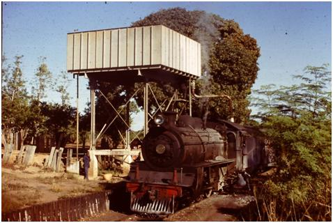 Mozambique steam train Atlantic 1975