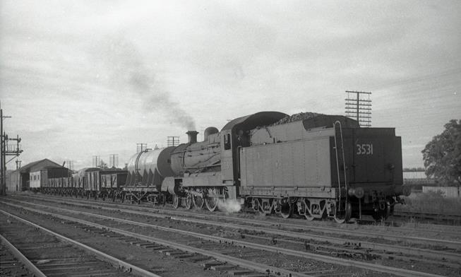 3531 nsw steam engine singleton 1968