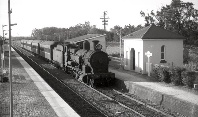 5269 Sandgate Newcastle Suburban 1968 steam engine
