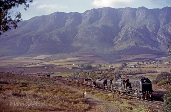 GMa Steam trains near Wrocester Western Cape South Africa