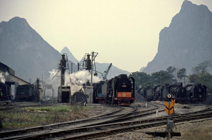 china steam trains guilin