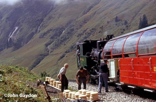 switzerland steam train rotthorn bahn