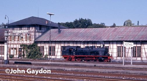 78 class tank engine steam loco rottweil germany