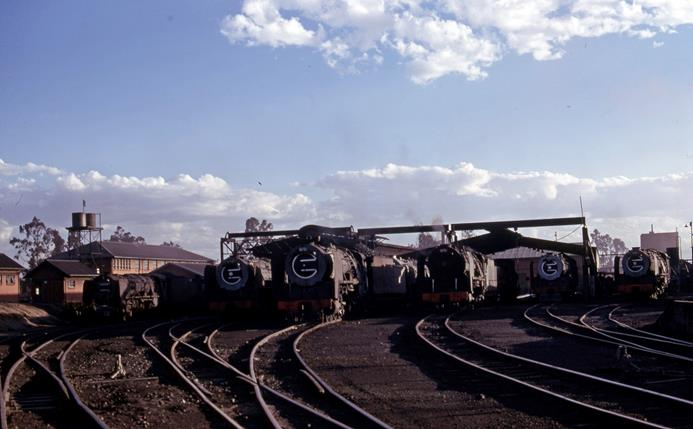 bethlehem loco depot south africa 1976