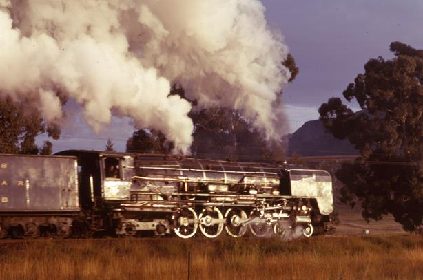 25NC Bethlehem South Africa steam loco