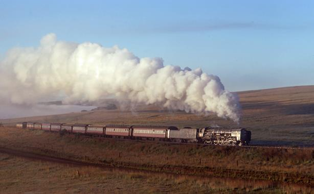25NC Bethlehem South Africa steam locomotive