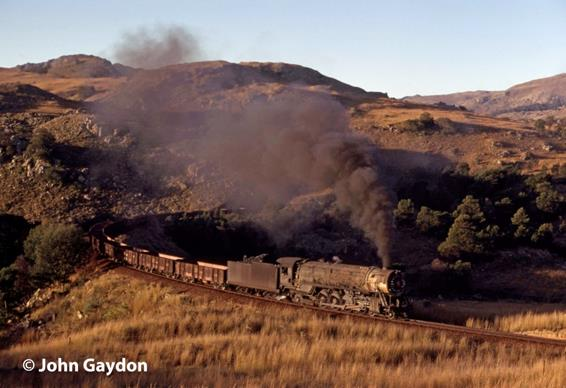 swaziland railway africa steam train 706