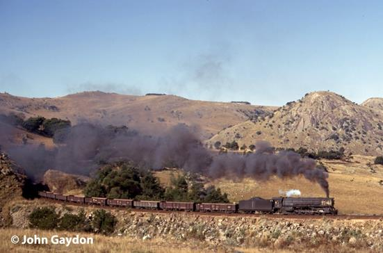 702 swaziland steam train horshoe iron ore mine