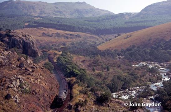 swaziland railway lusuttu river steam locomotive 700