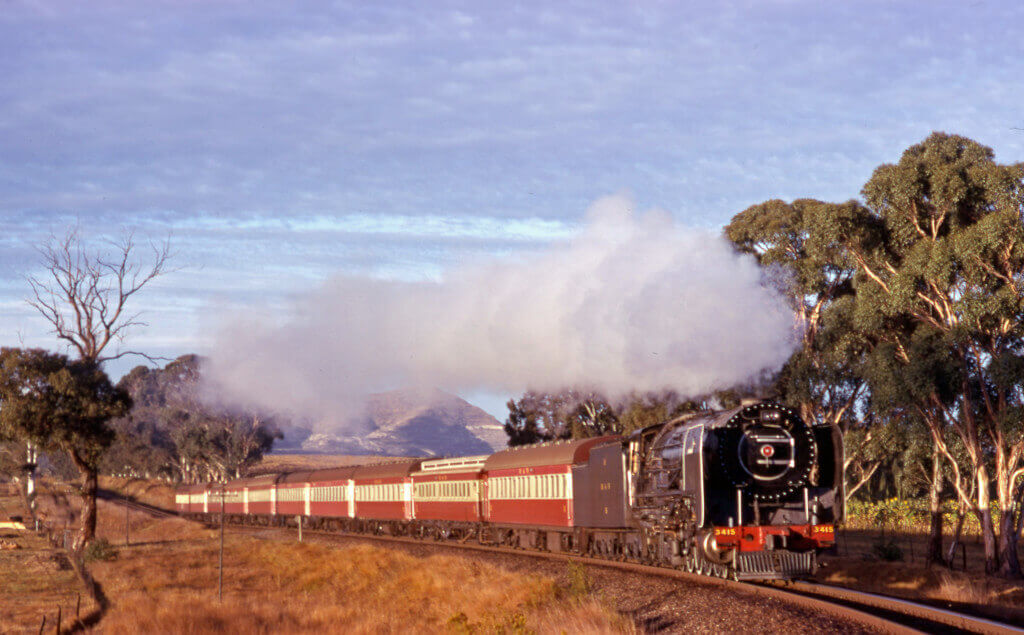 25NC, Bethlehem steam train, south africa steam loco