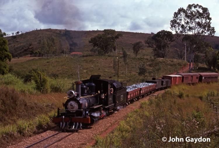 60 sao joao del rei steam mixed train brazil