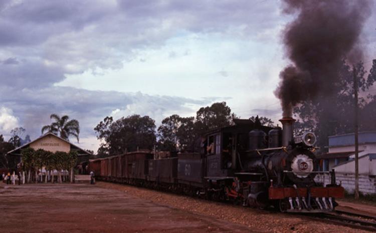 """60 sao joao del rei campolinde steam train narrow guage 2' 6"""""""
