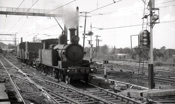 2029 liverpool campbelltown nsw steam train