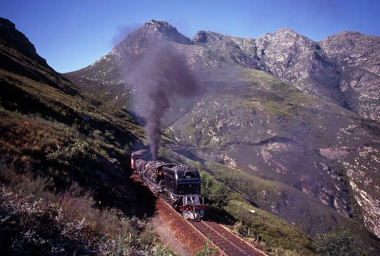 GMAM Montagu Pass Passenger Train Garden Route South Africa