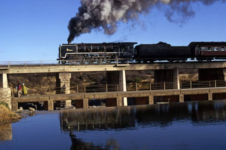 glenn damn south africa bloemfontein 25nc steam train south africa