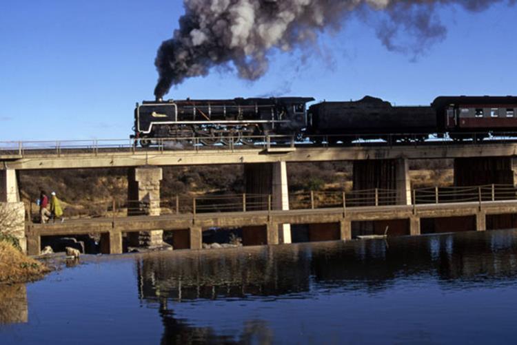 glenn damn south africa bloemfontein 25nc steam train south africa