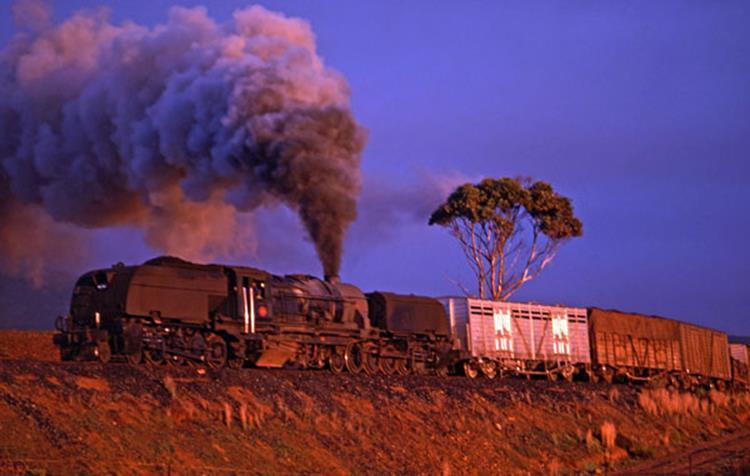 GEA claedon freight steam train south africa