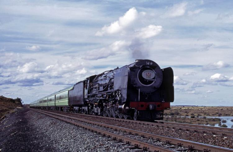 25nc kimberly de aar south africa drakensburg steam express train