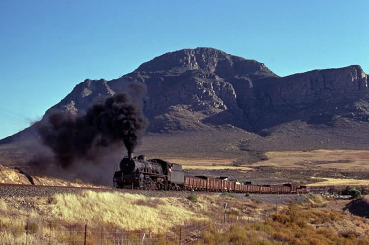 19c eendekuil south africa cap province steam train bitterfontein