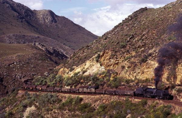 hoehoek gea 1975 south african steam