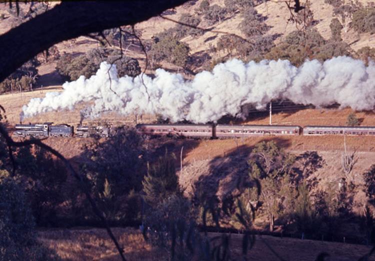 3526 3246 moombi ranges steam train locomotive nsw