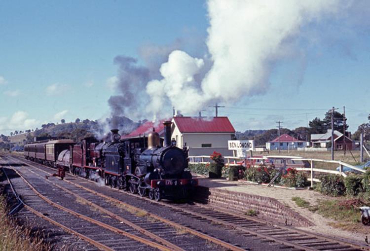 ben lomond nsw 3214 1243 176 steam loco australia highest railway station