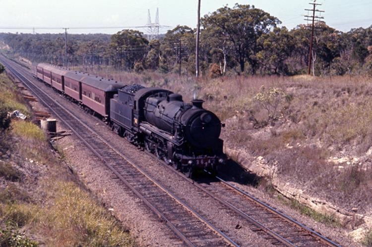 37x 3642 popes week 1970 local passenger steam train