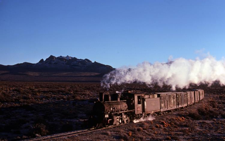 cera mesa table top argentina esquel steam train henschel 2-6-0