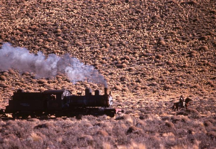 goucho steam train henschel 2-6-0 patagonia argentina loco