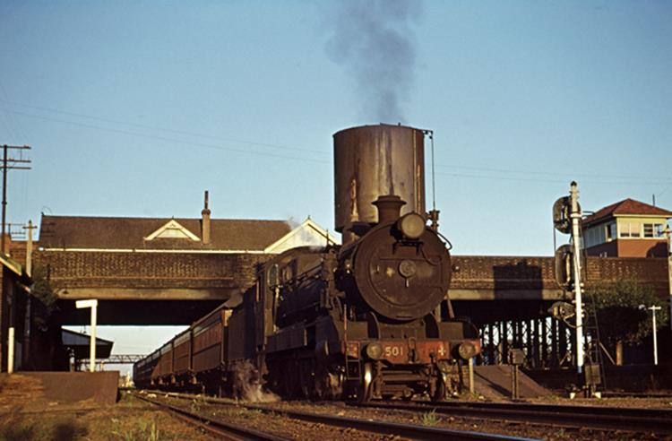 3501 singleton passenger maitland steam train