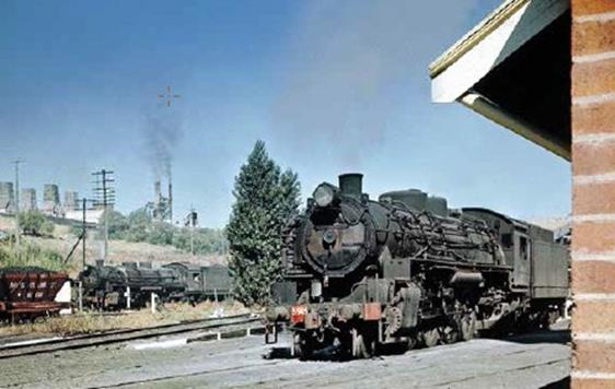muswellbrook no 2 colliery 59 class steam loco