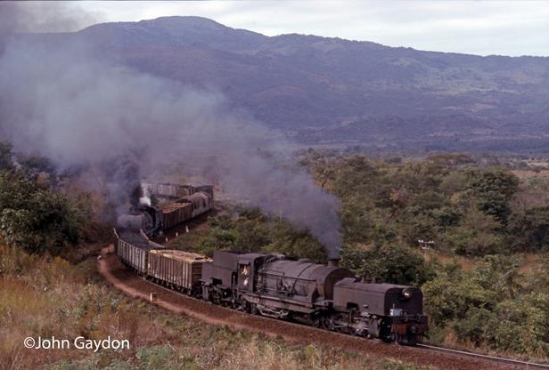 Mozambique cfm garratts beira steam train
