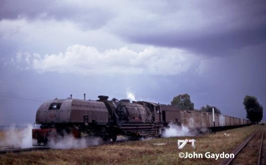 kenya 59 class steam loco