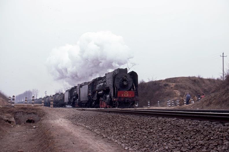 qj louyang china steam train