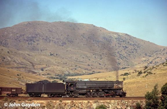 Swaziland railway 702 steam locomotive africa