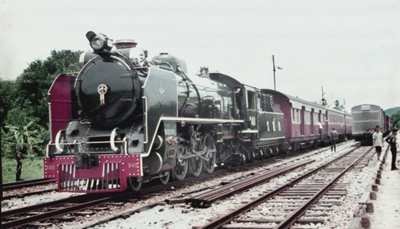 840 thai steam loco pacific 4-6-2