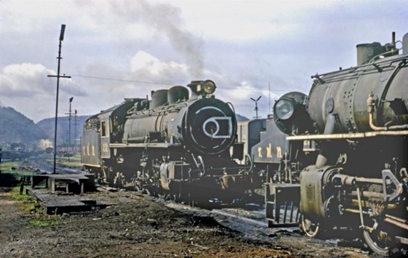 232 3 cylinder thai pacific thung song loco depot