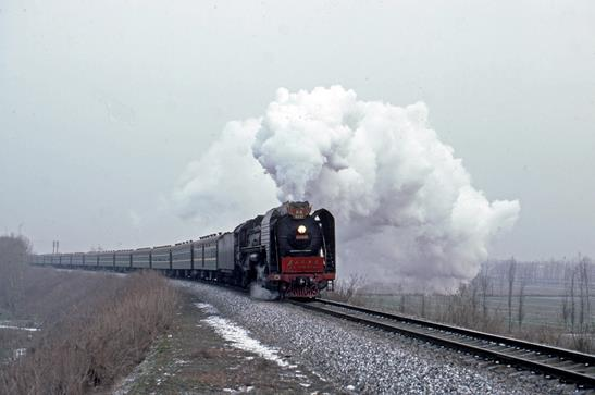 QJ 6495 Xian china steam loco