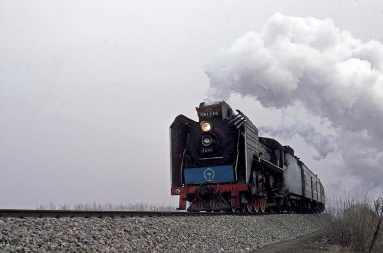 RM 1240 Xian china steam train