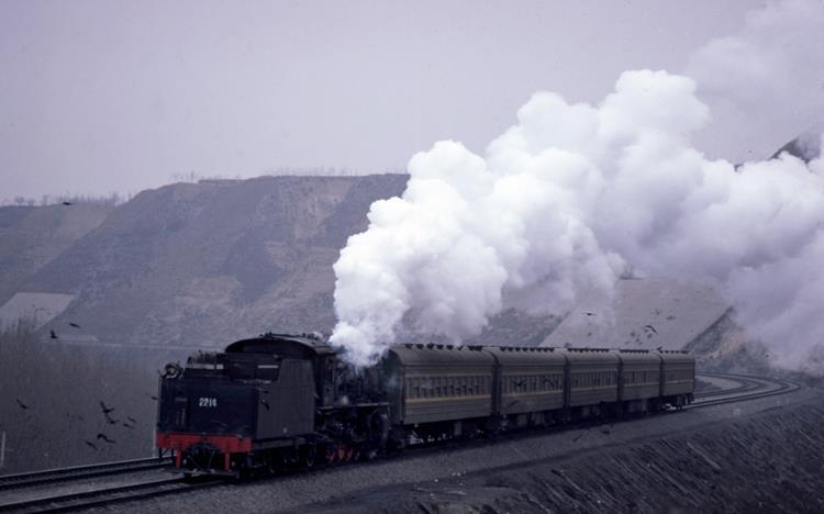 jf 2214 lanzhou china henan steam train