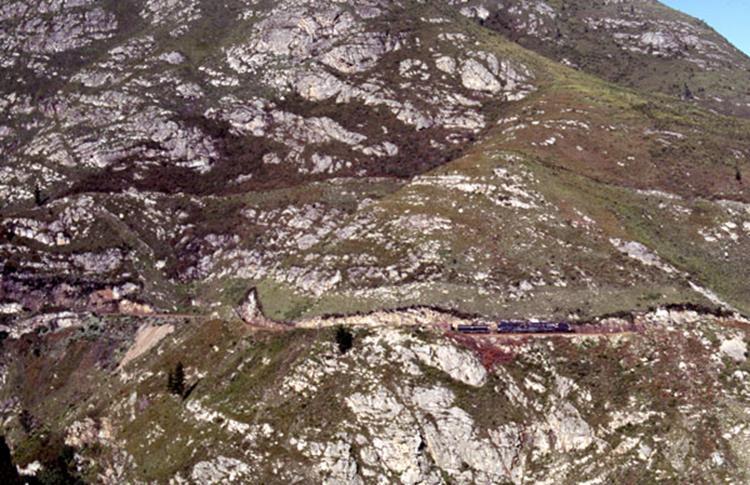 GMASM Montagu Pass Outeniqua Mountains south africa steam train