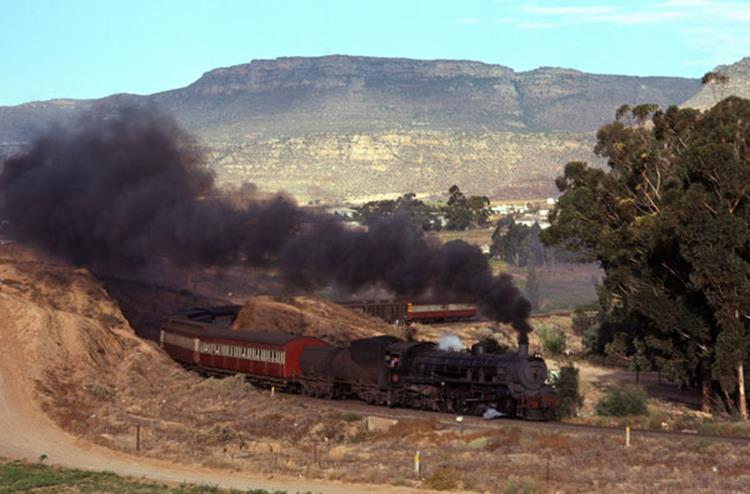malmsberry south africa 19c express passenger steam train