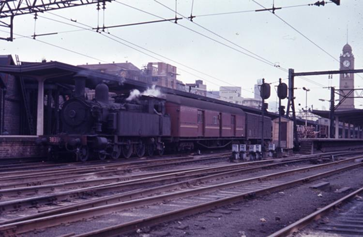 3130 sydney terminal shunting steam trains