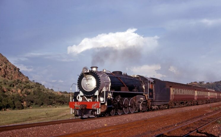 15CA Paarnport South Africa Steam Locomotive