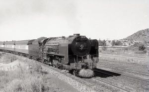 23 Kroonstad South Africa steam train